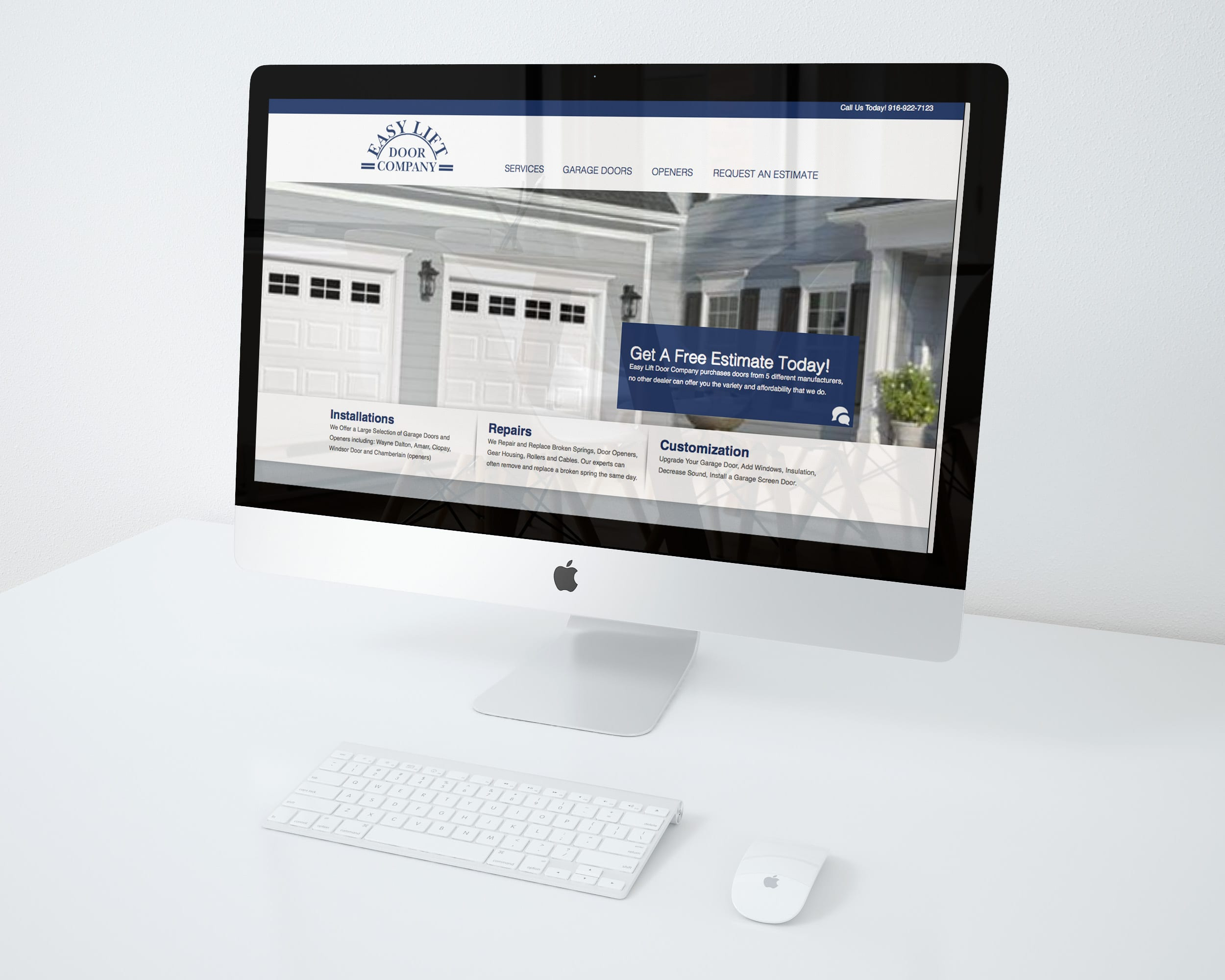 & Easy Lift Door Company - Webinet Media